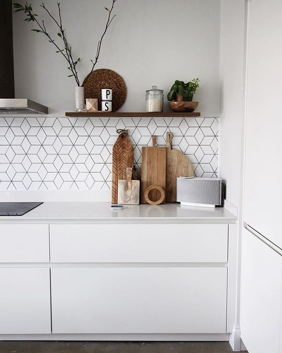 How to find the right tiles to compliment your Scandi kitchen